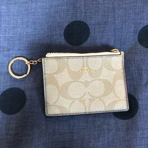 Coach little wallet